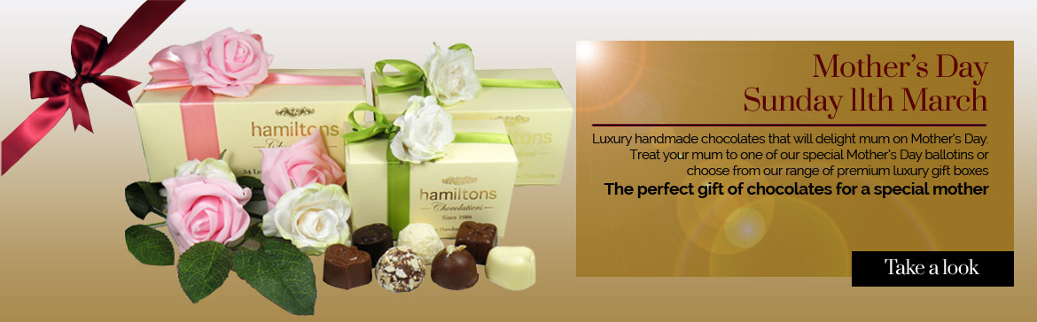 The perfect gift of chocolates for mum on Mother's day