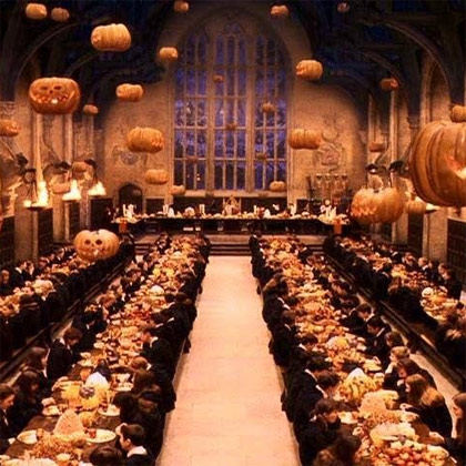 Harry Potter The Haloween feast