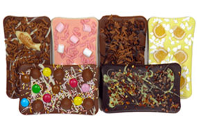 Gourmet Chocolate  Bars