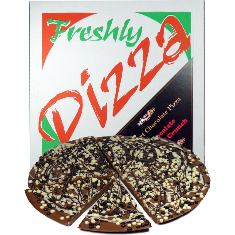 "10"" Chocolate Biscuit Crunch Chocolate Pizza"