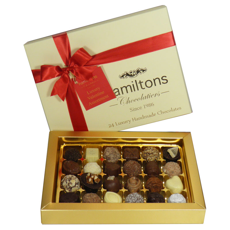 Premium Luxury 24 Chocolate Valentine Gift Box