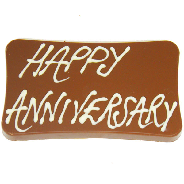 Happy Anniversary Milk Chocolate  Bar