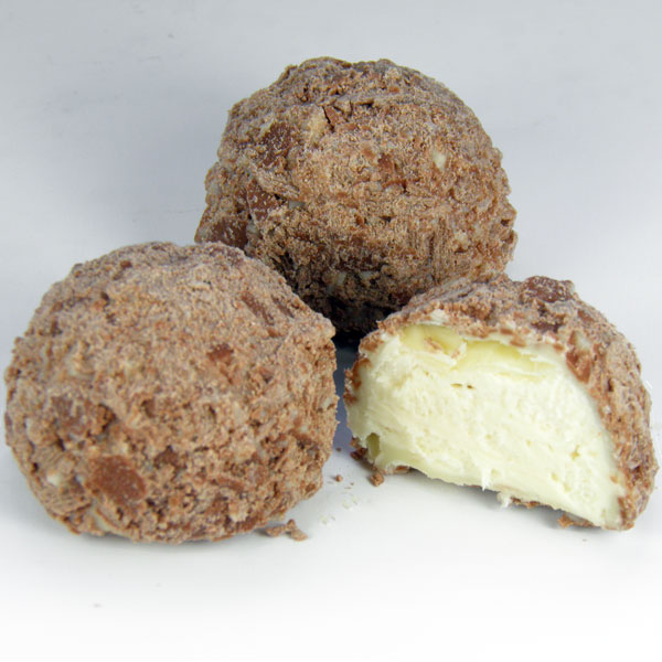 White Chocolate Champagne Truffle