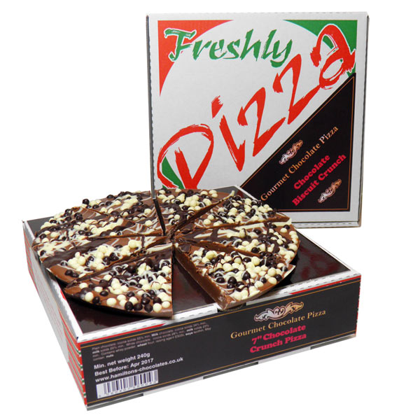 "7"" Chocolate Crunch Chocolate Pizza"