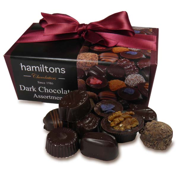 Dark Chocolate Selection 24 Handmade Dark Chocolates