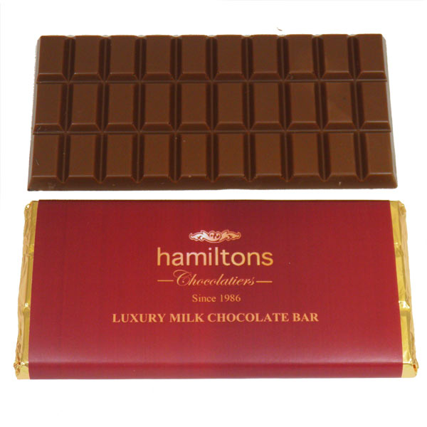 Luxury Belgian milk Chocolate Bar