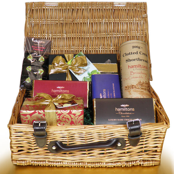 Luxury Christmas Chocolate Hamper
