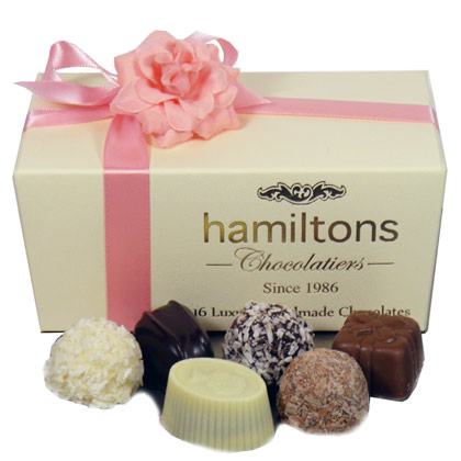 Mothers day Luxury Chocolate Box 16 Handmade Chocolates