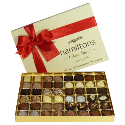 Premium Luxury 48 Chocolate Valentine Gift Box