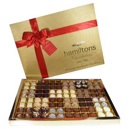Premium Luxury Gift Box Containing 96 Handmade Chocolates