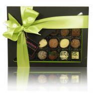 24 Chocolate Green And Black Gift Box