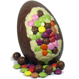 Milk Chocolate Malteser &  Bean Easter Egg
