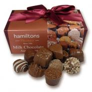 Milk Chocolate Selection. Contains 24 Handmade Chocolates