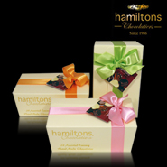 24 Chocolate Luxury Ballotin Gift Box Perfect For Mothers Day