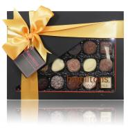 24 Chocolate Orange And Black Gift Box