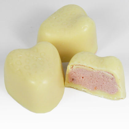 White Chocolate Strawberry Cream