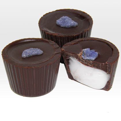 Dark Chocolate Violet Creams