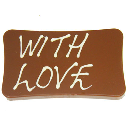With Love Milk Chocolate  Bar